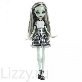 Кукла Monster High Ghouls Alive Frankie Stein Фрэнки Штейн Живая  MONSTER HIGH (Школа Монстров)